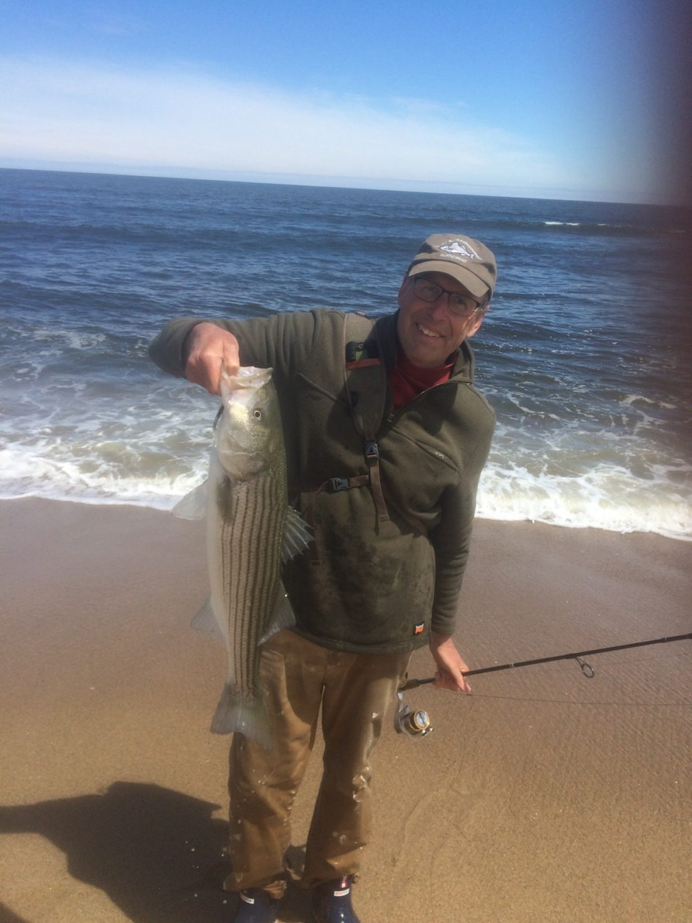 Southern Maine Striped Bass Fishing Report   New England ...